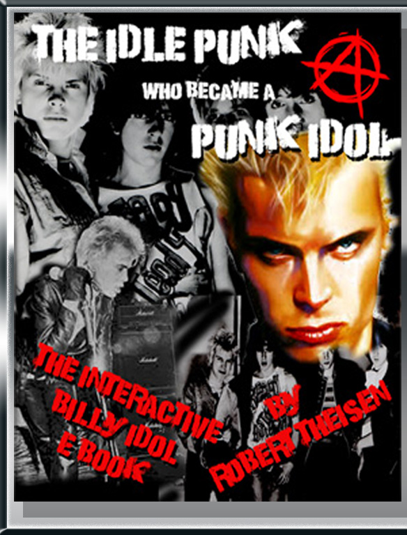The ebook cover for the idle punk who became a punk idol